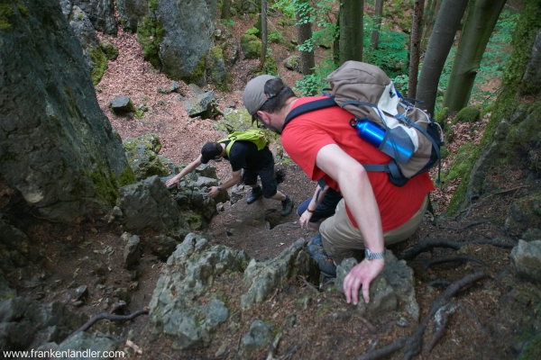 Eibgrat Abstieg Teil 1