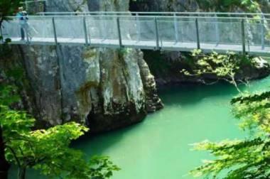 Hängebrücke Tiroler Ache