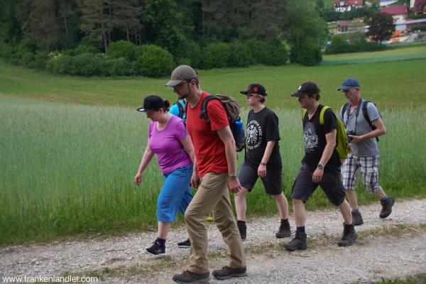 Langzeitwandern 17 km