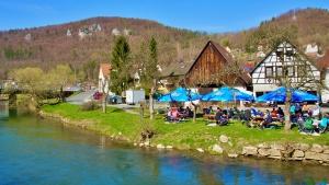 Biergartenwanderung fränkische Schweiz