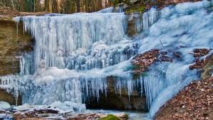 klingender Wasserfall