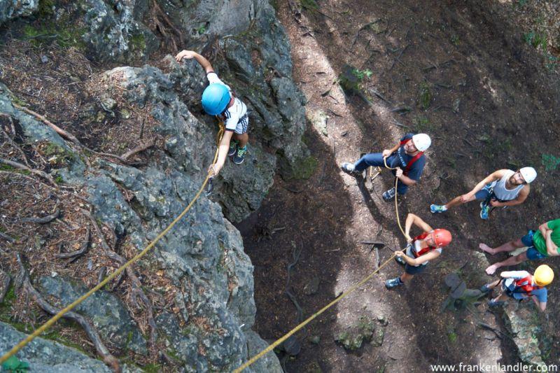 Kletterurlaub mit Kindern