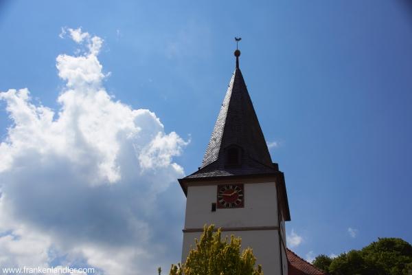 die Kirche - das Wahrzeichen von Plech