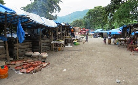 Matema village market
