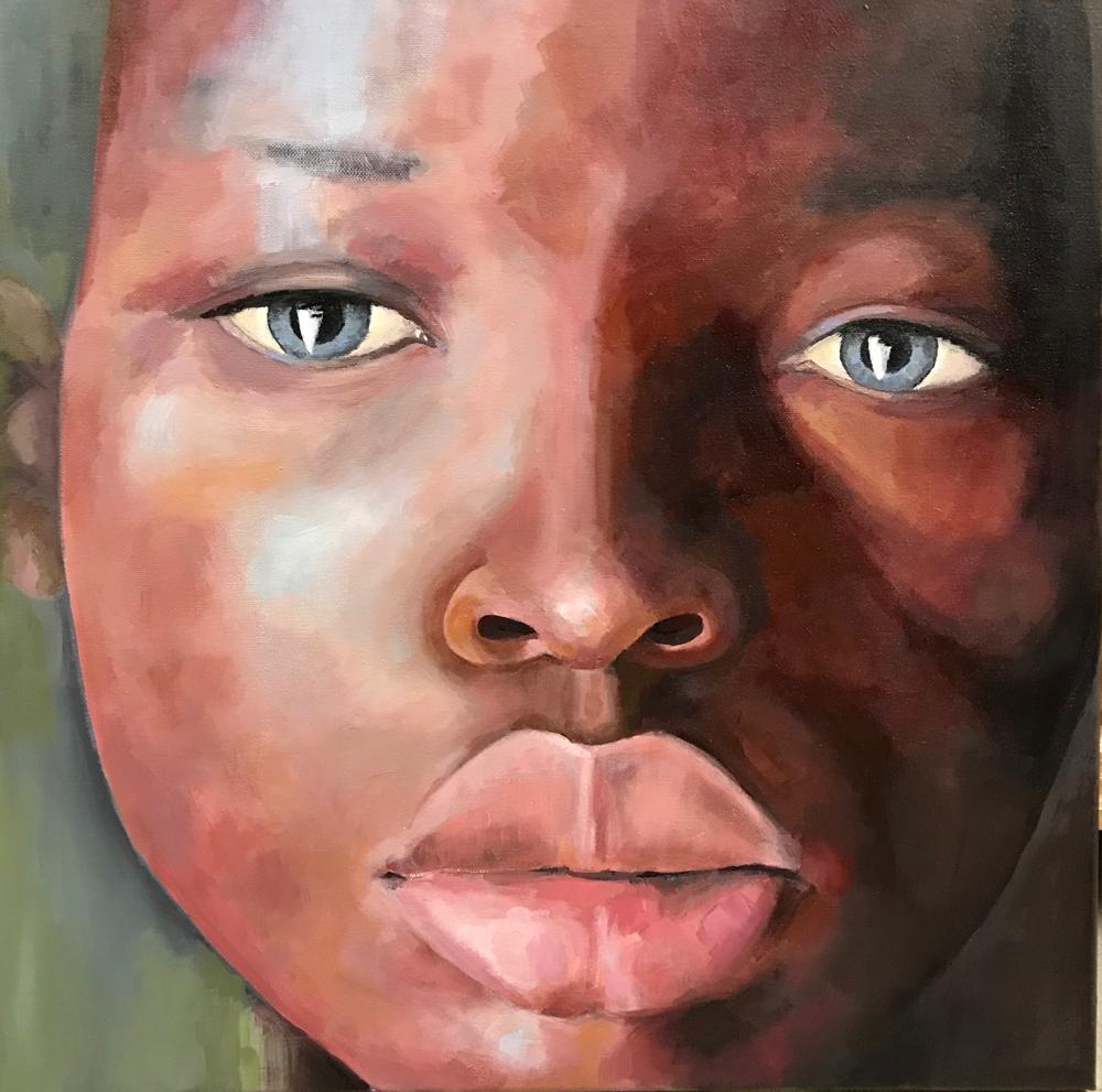 50 x 50 cm - Acryl auf Leinwand (verkauft)