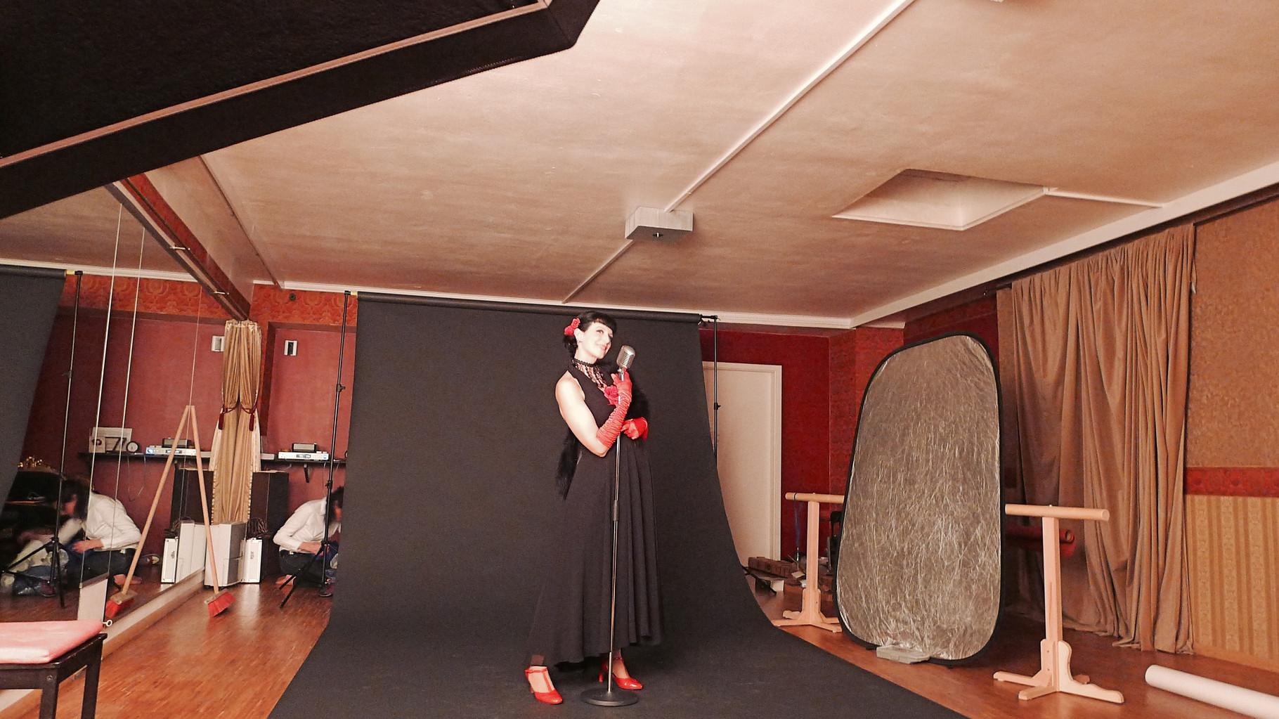 Fotoshooting mit Vintage Rebel Studio in den Maillinger Studios