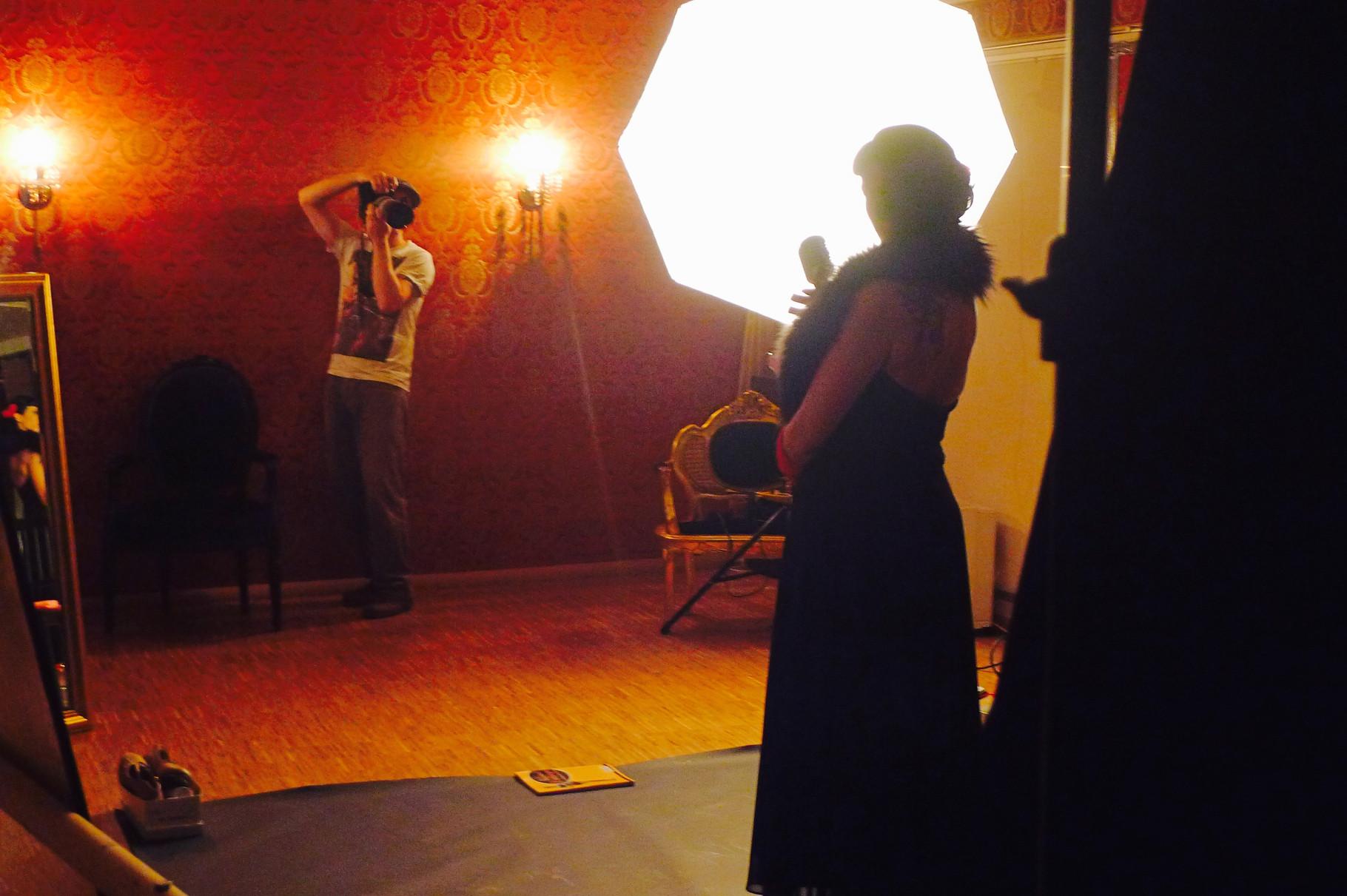 Fotoshooting mit Vintage Rebel Studios in den Maillinger Studios