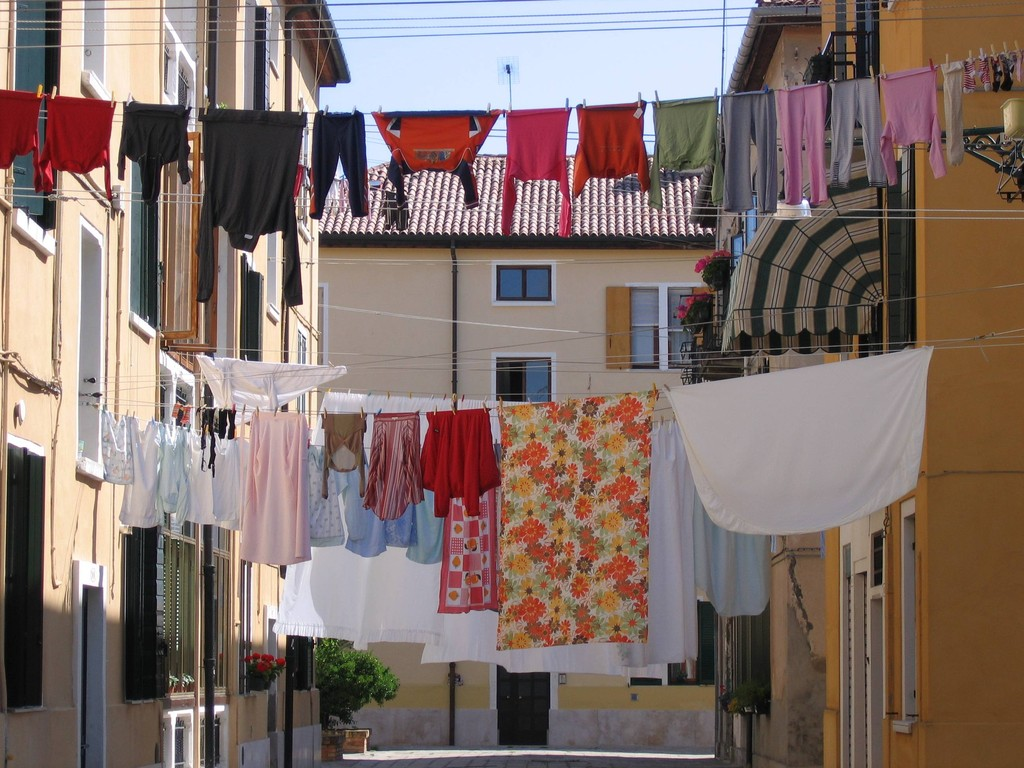 Waschtag auf Giudecca