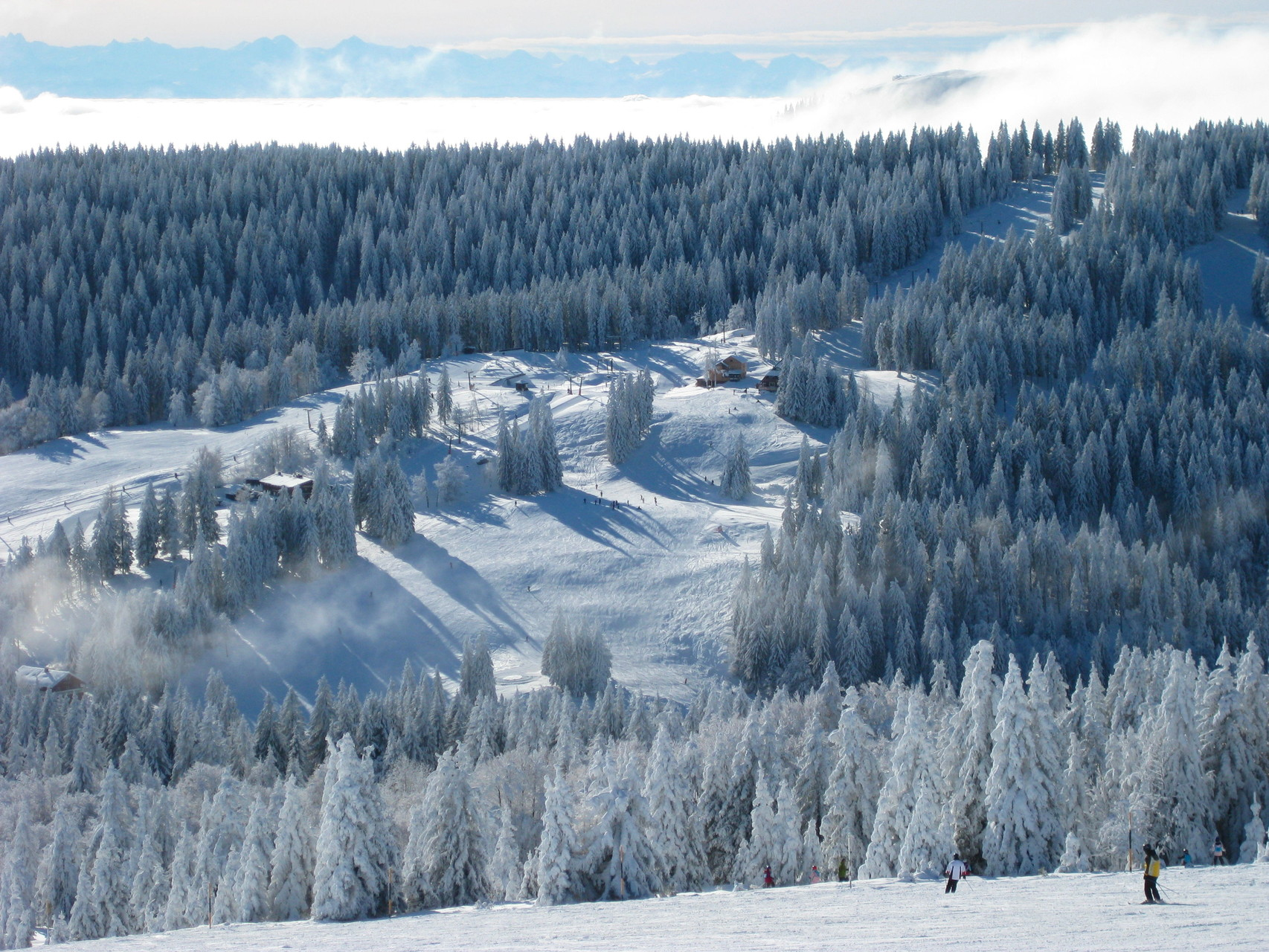 Das Skigebiet Grafenmatt