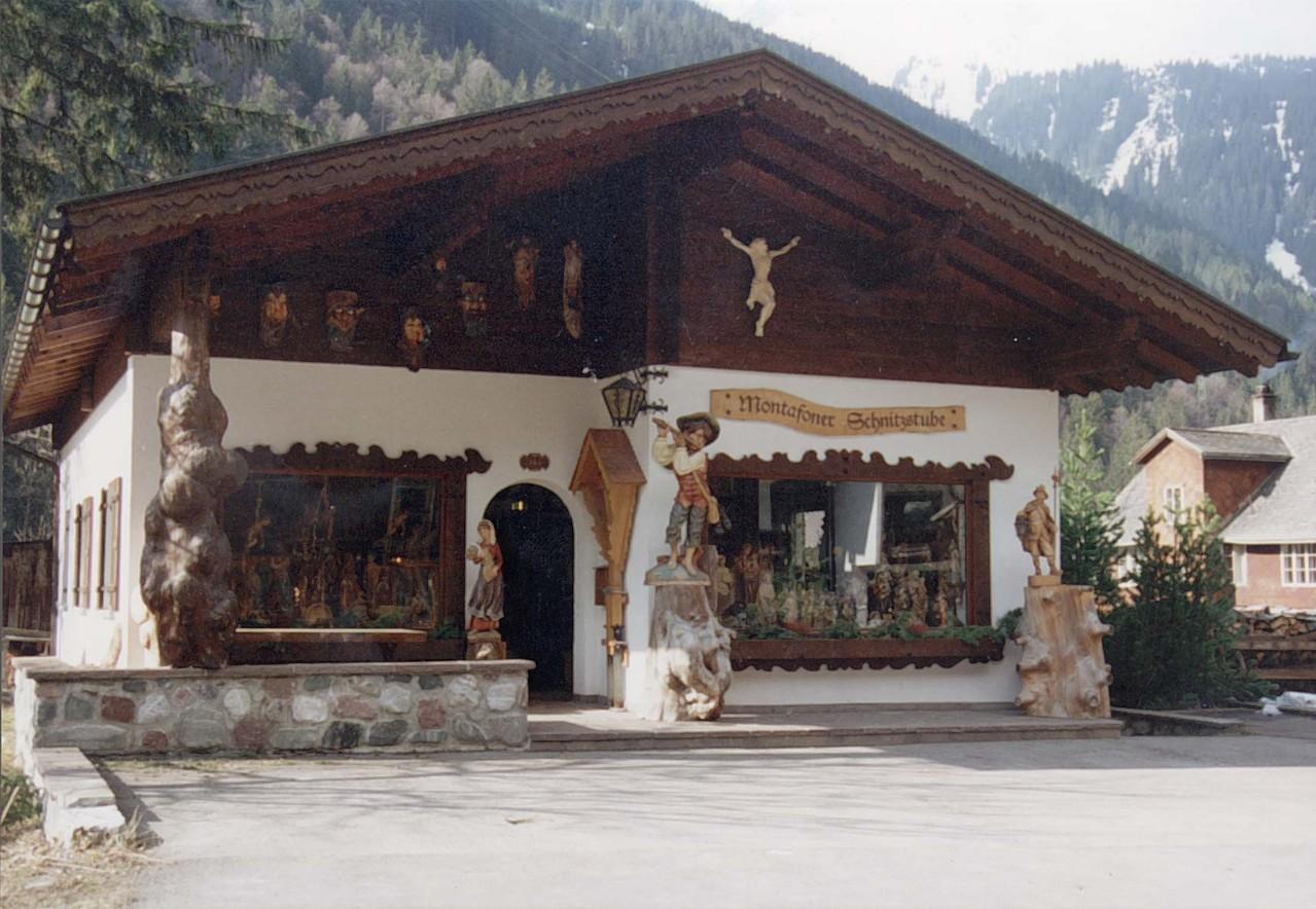Montafoner Schnitzstube in Partenen, Vorarlberg