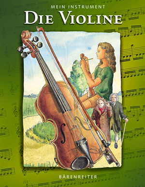 Cover des Geigenbuches von Heike Prange