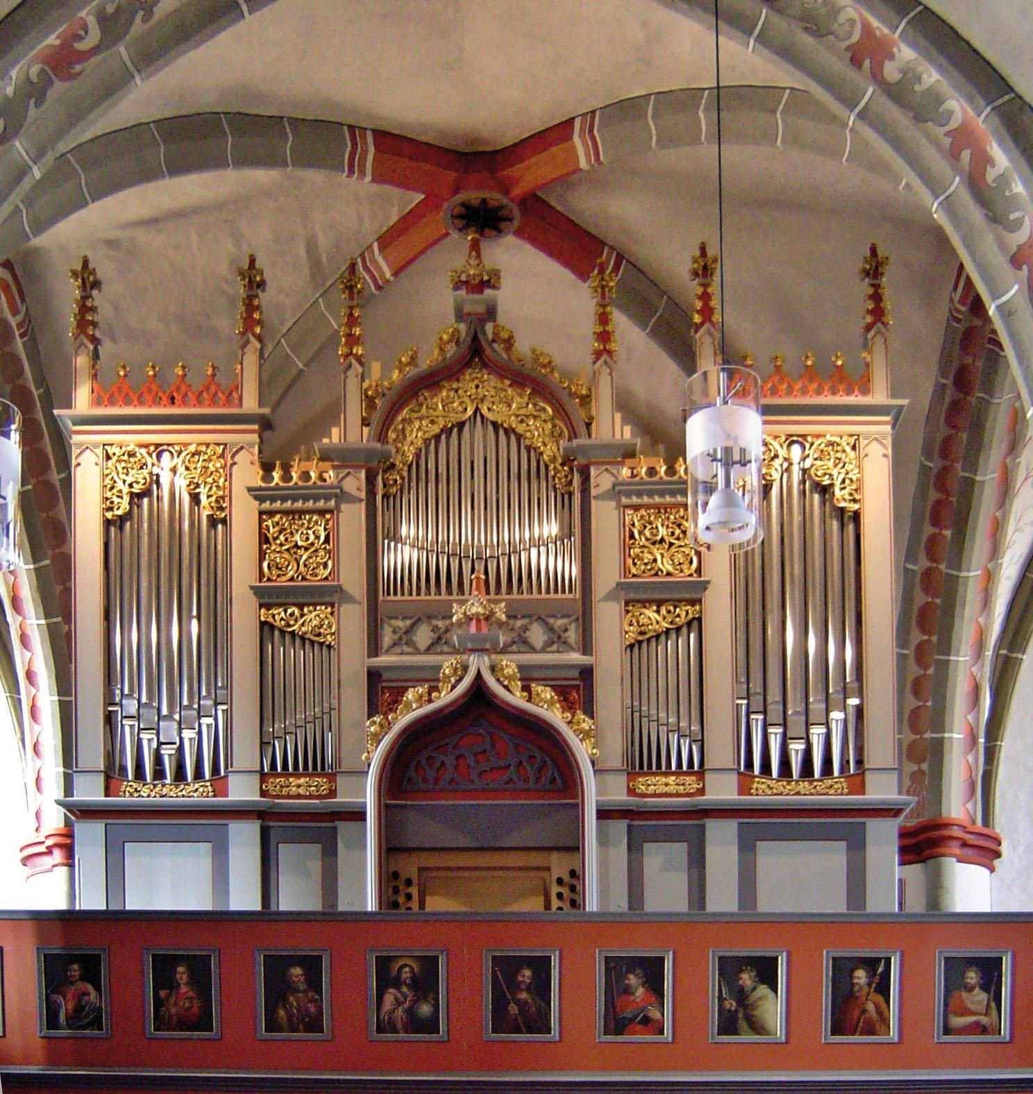 Vogt-Orgel von 1853