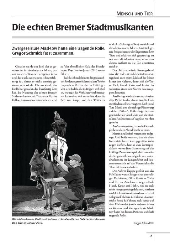"Esel-POST ""Ausgabe 91, Dezember 2010"""