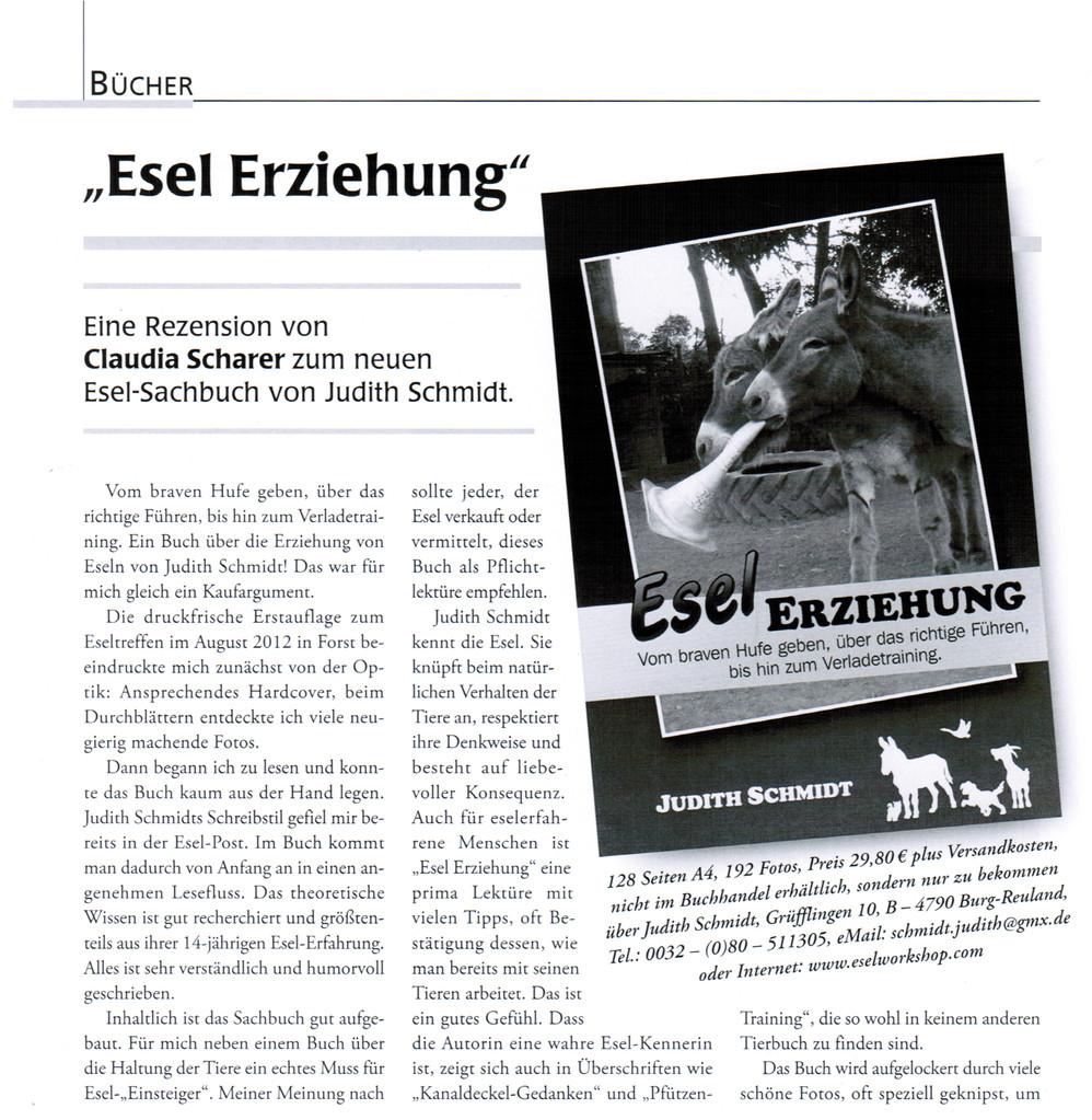 "Esel-POST ""Ausgabe 99, Dezember 2012"""