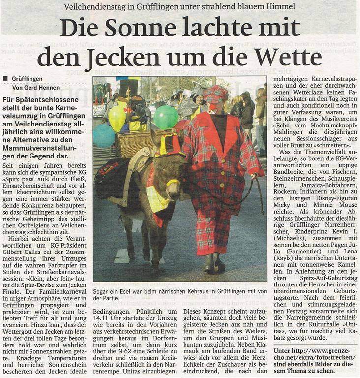 """Zeitung """"Grenz Echo"""""""
