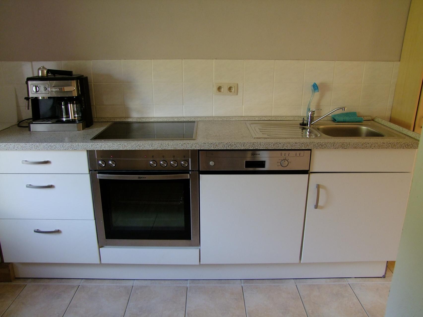 Das obere Appartement: Küche