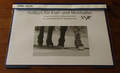 Script vom Kurs von Thekla Freidrich