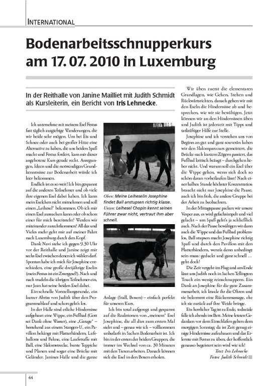 "Esel-POST ""Ausgabe 90. September 2010"""