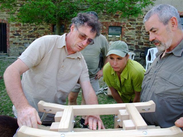 2009: Endlich ein Packsattel, der unserem Samuel passt.