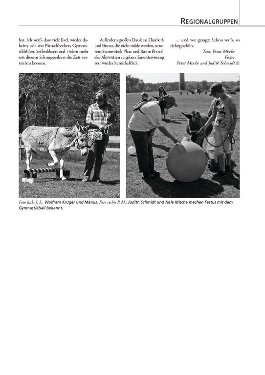 "Esel-POST ""Ausgabe 94, September 2011"""