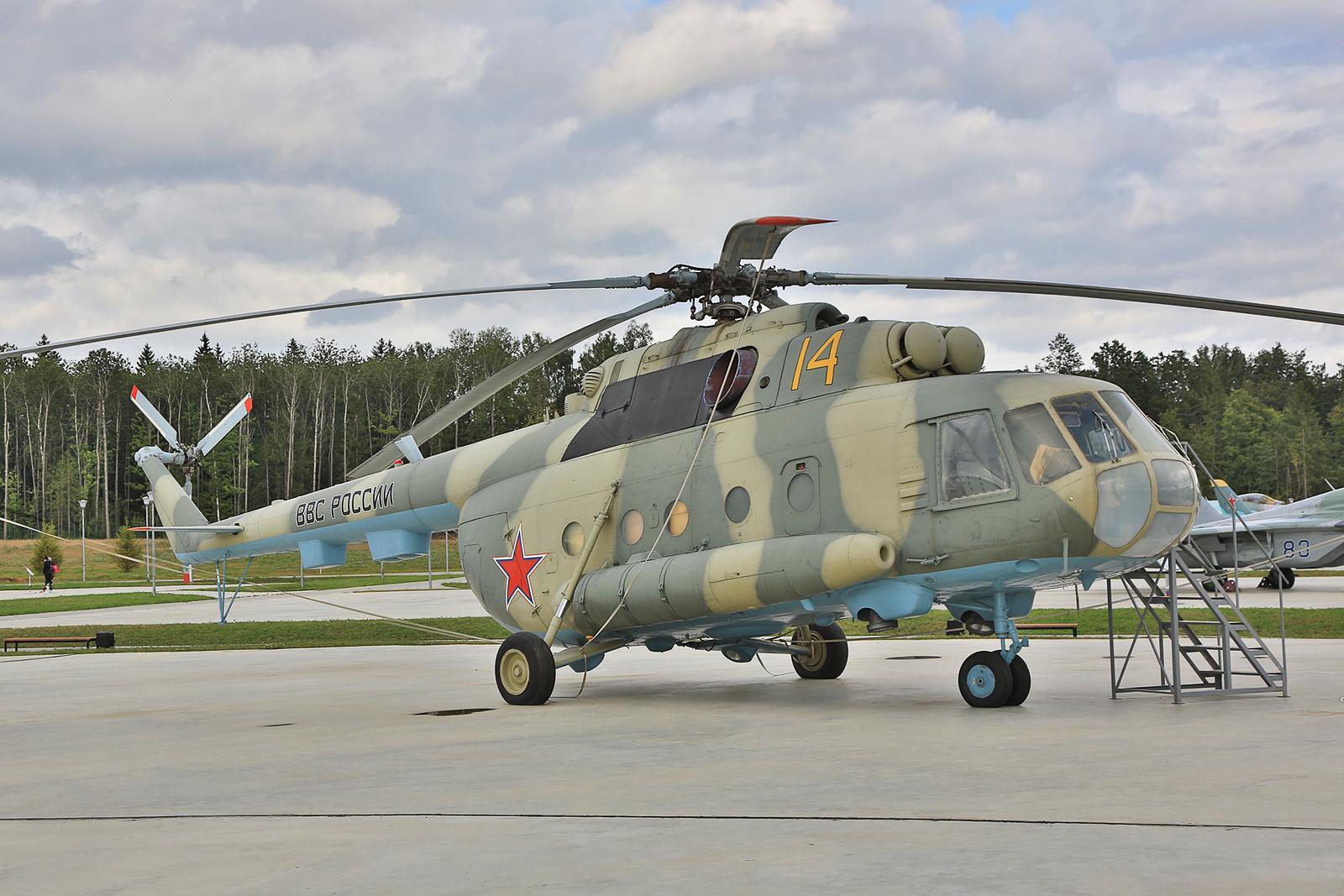 Der Transporthubschrauber Mil Mi-8 und seine Nachfolger suind bis heute das Arbeitspferd der Hubschrauberkräfte.