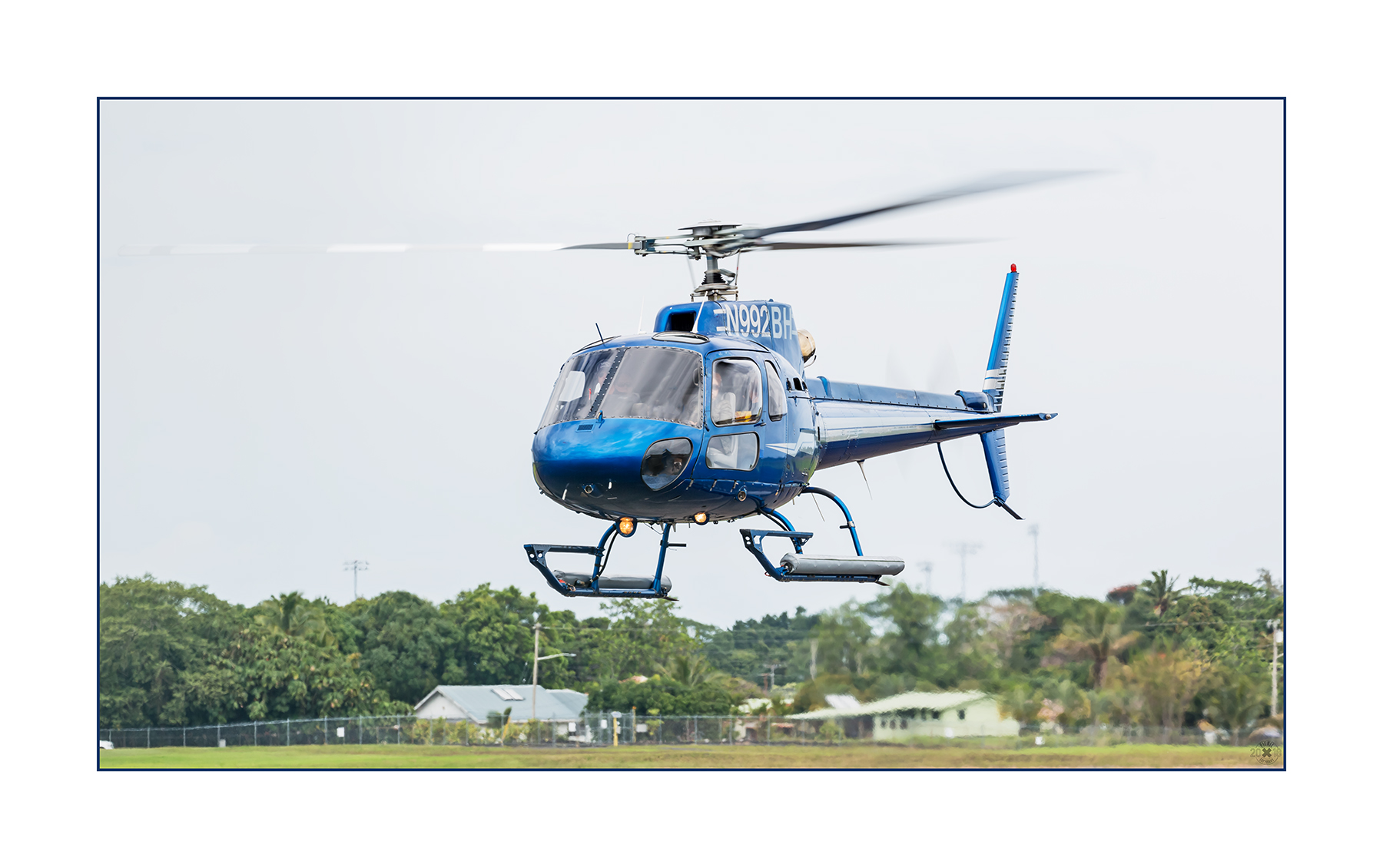 Airbus H125 AS350B2 N992BH Blue Hawaiian Helicopters
