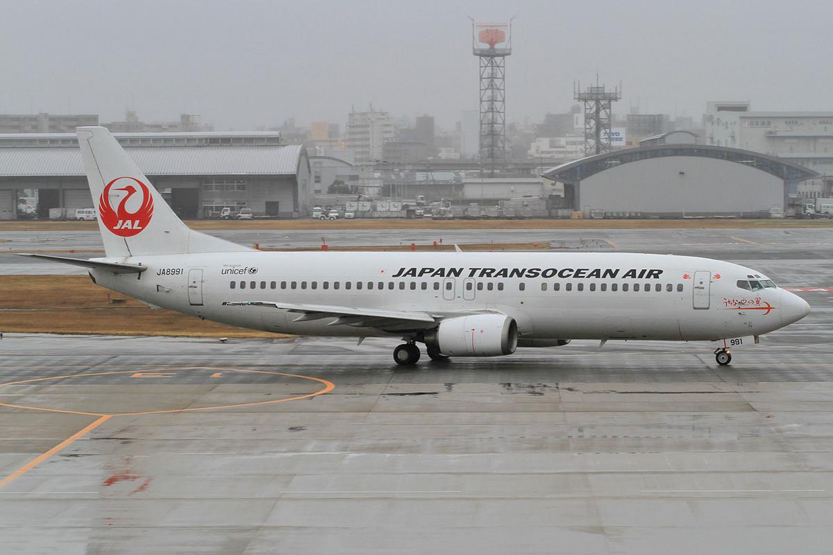 Japan Transocean Air, ein Ableger der JAL