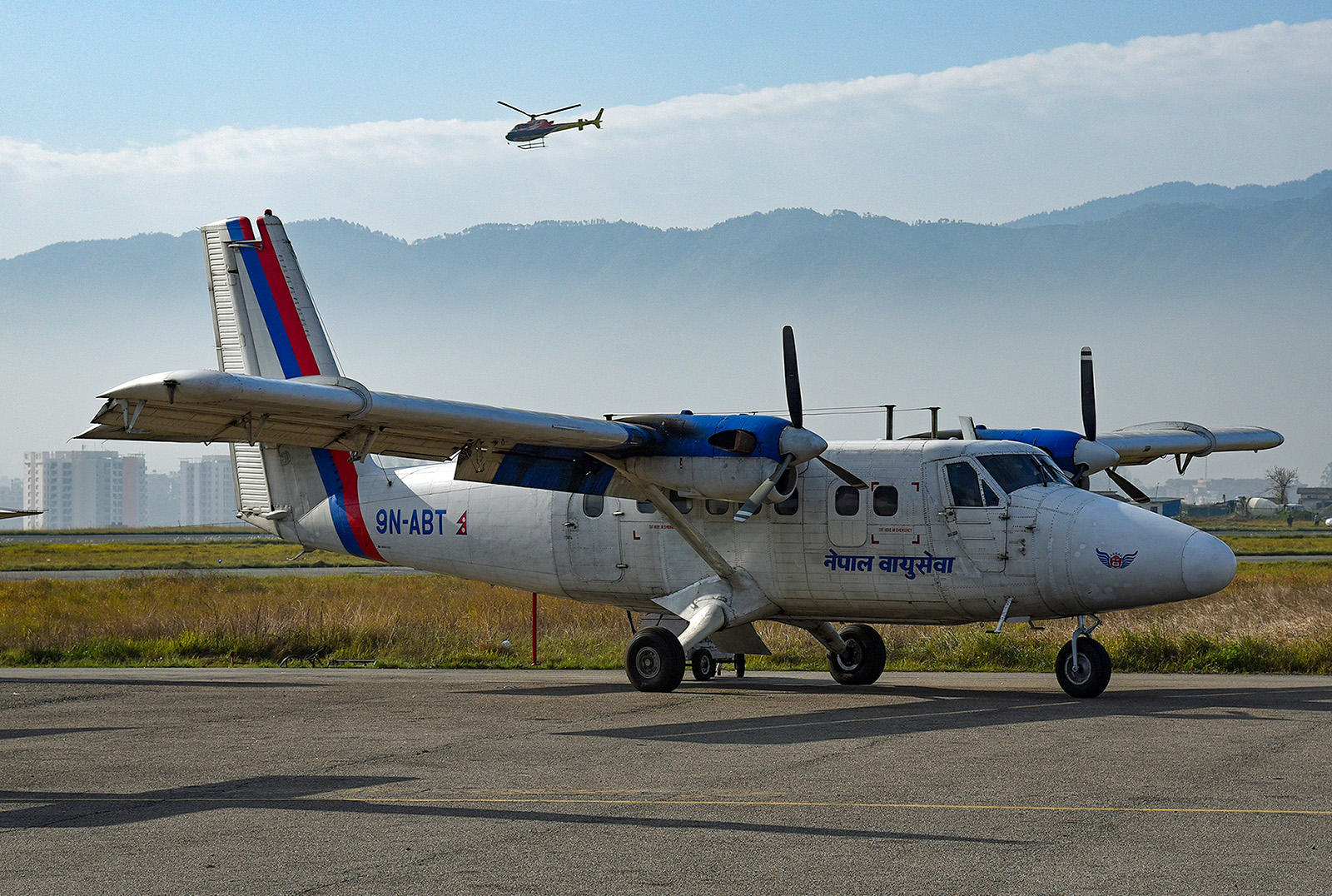 Twin Otter der Nepal Airlines.