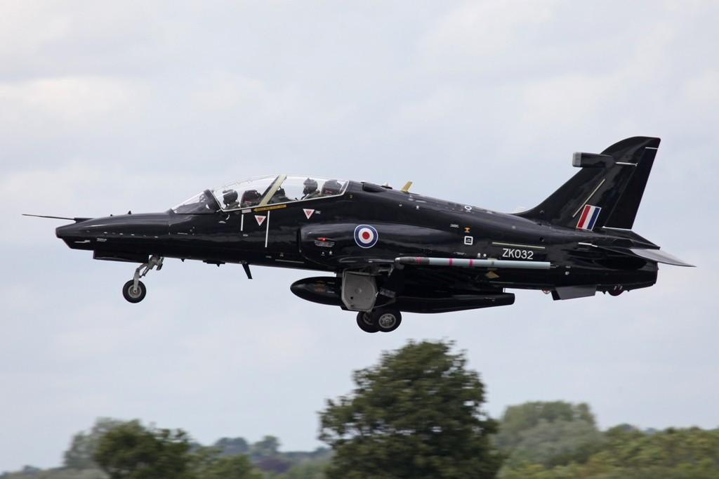 Ein BAe Hawk 120 aus RAF Valley.