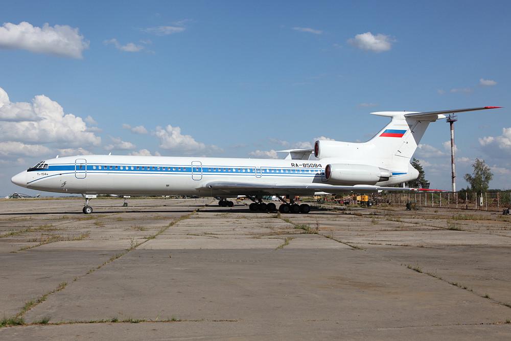 Tupolev TU-154 der Russischen Luftwaffe.