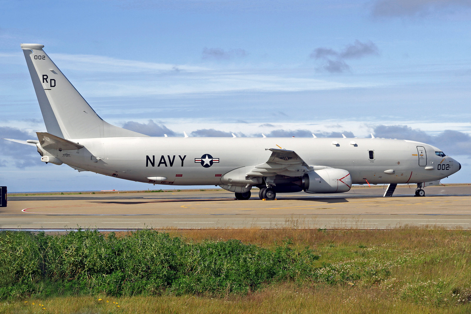 United States Navy Boeing P-8A Poseidon 169002, KEF, 12. August 2020