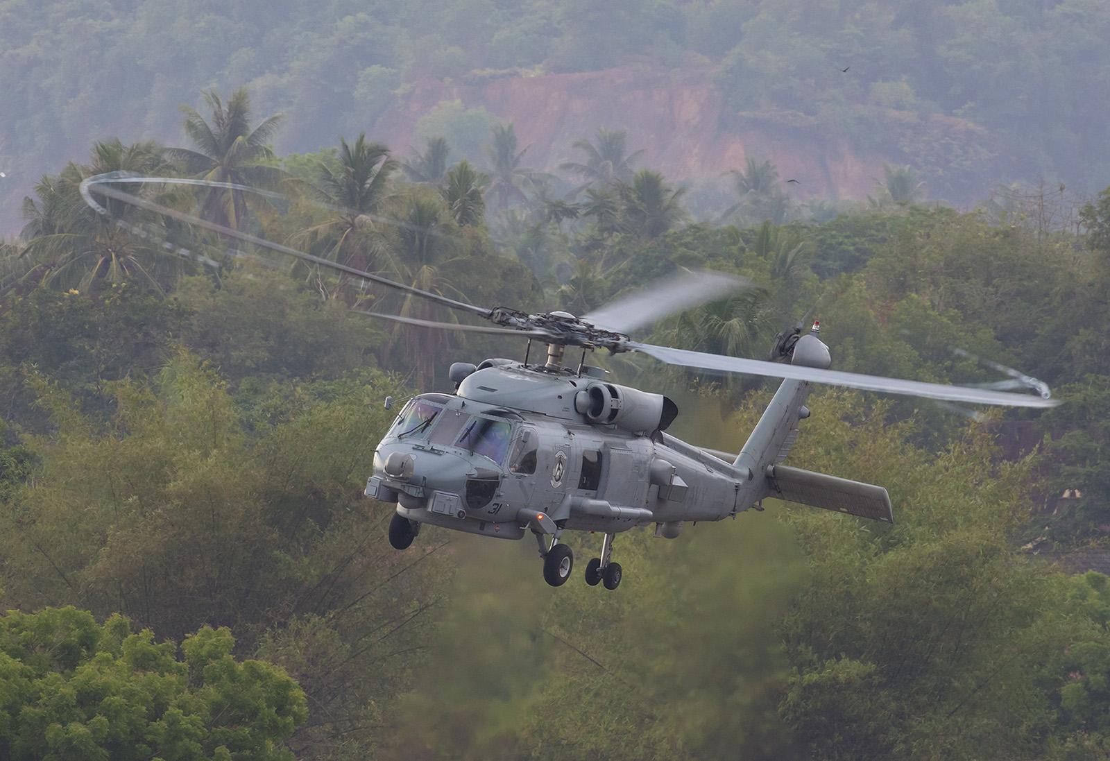 MH-60 der US Navy.