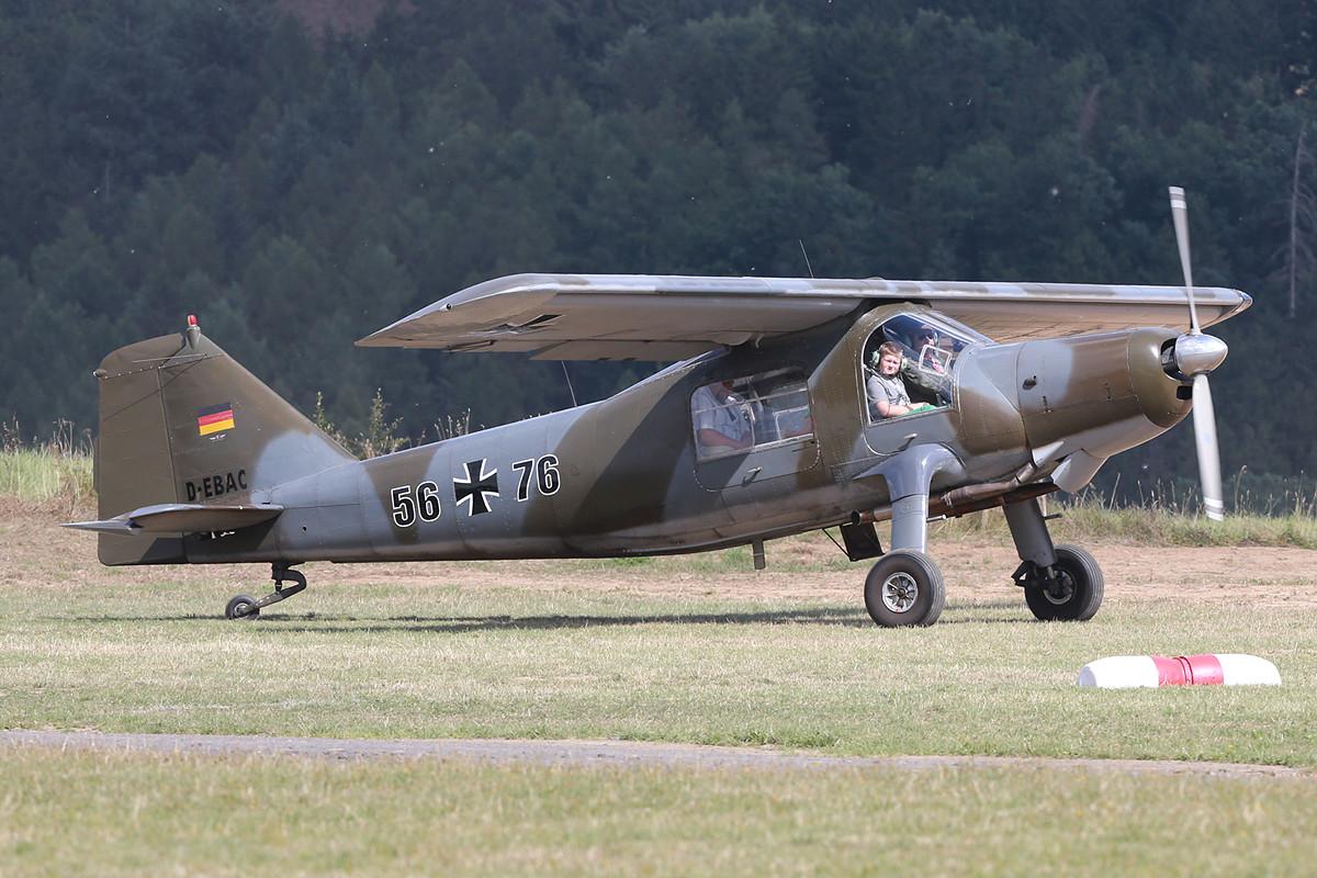 Die Dornier Do-27 beim Start