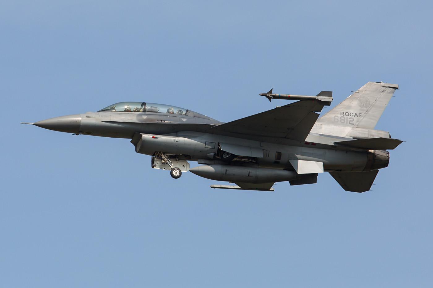 F-16D aus Chiayi, einer von zwei Plätzen, den wir nicht auf unserer Reise geschafft haben.
