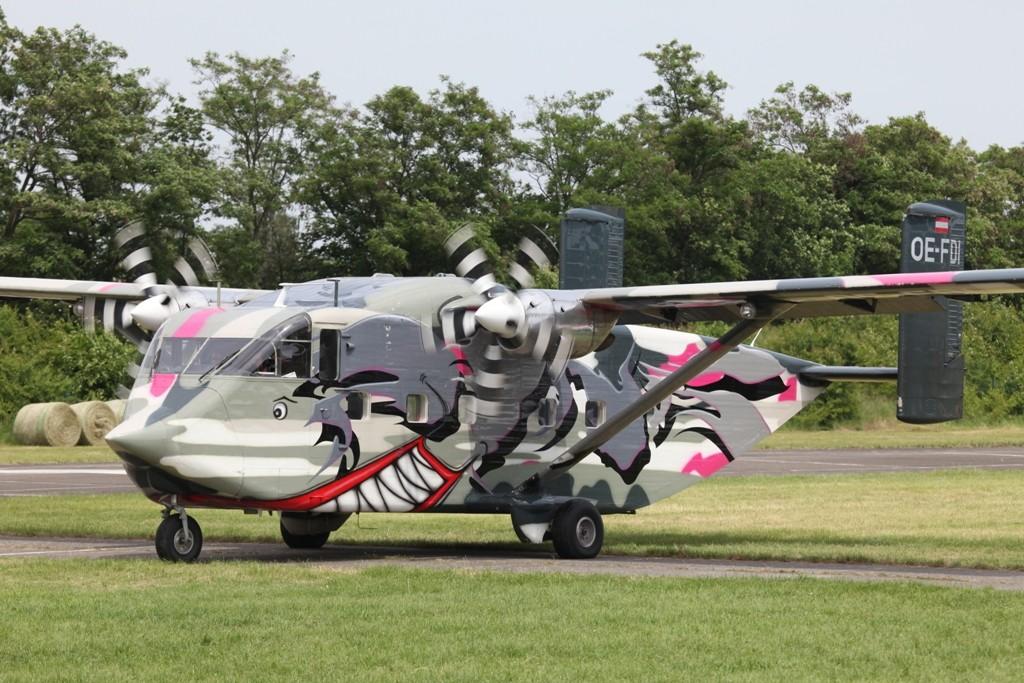 Short SC.7 Skyvan der Pinkaviation aus Österreich.