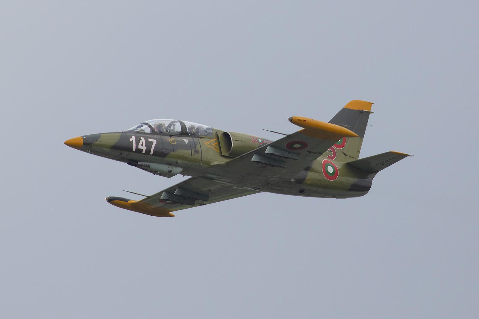 Nach mehreren Jahren Pause wurden die Let L-39 wieder aktiviert.