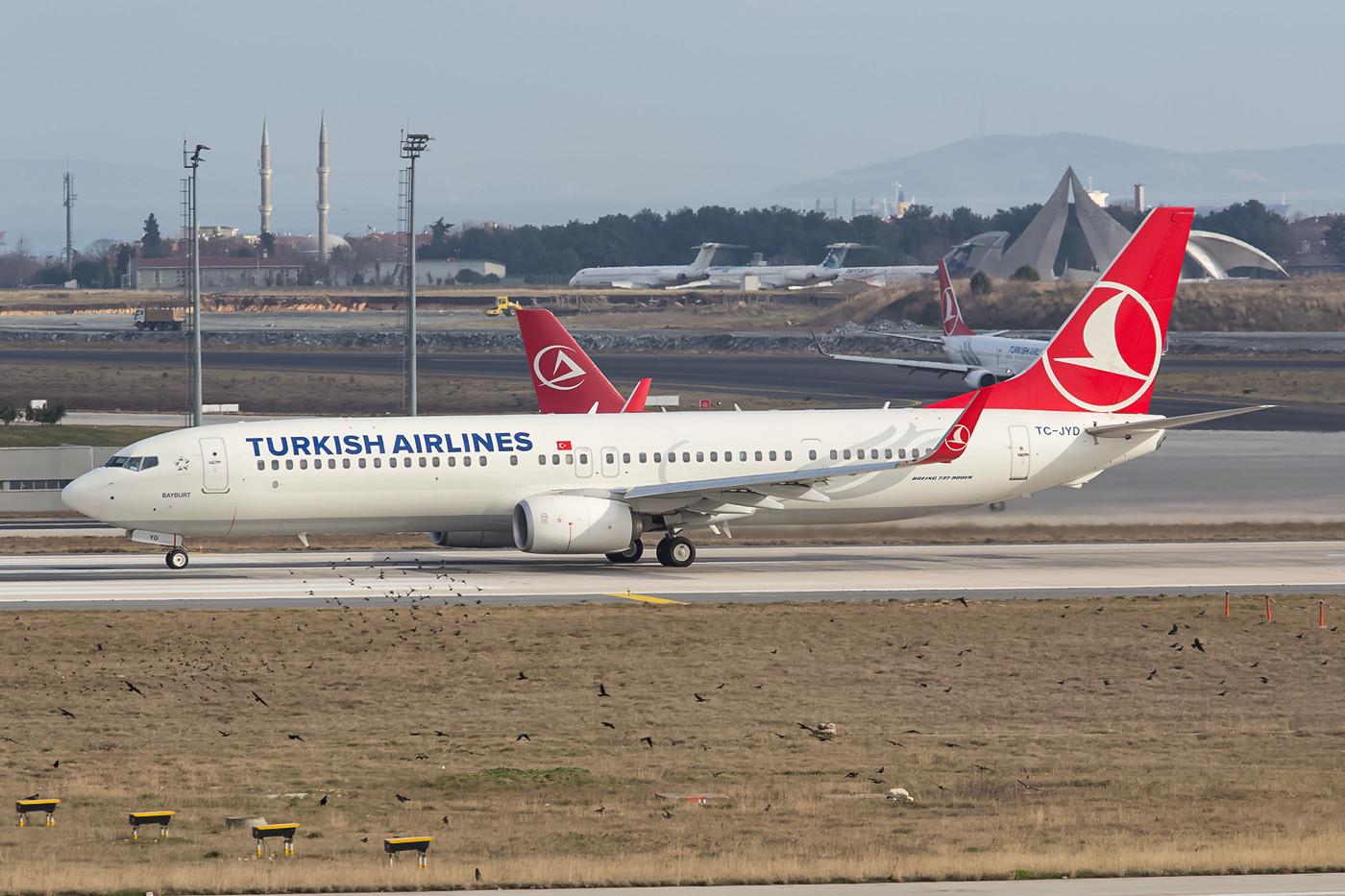 Eine von zehn Boeing 737-900ER.