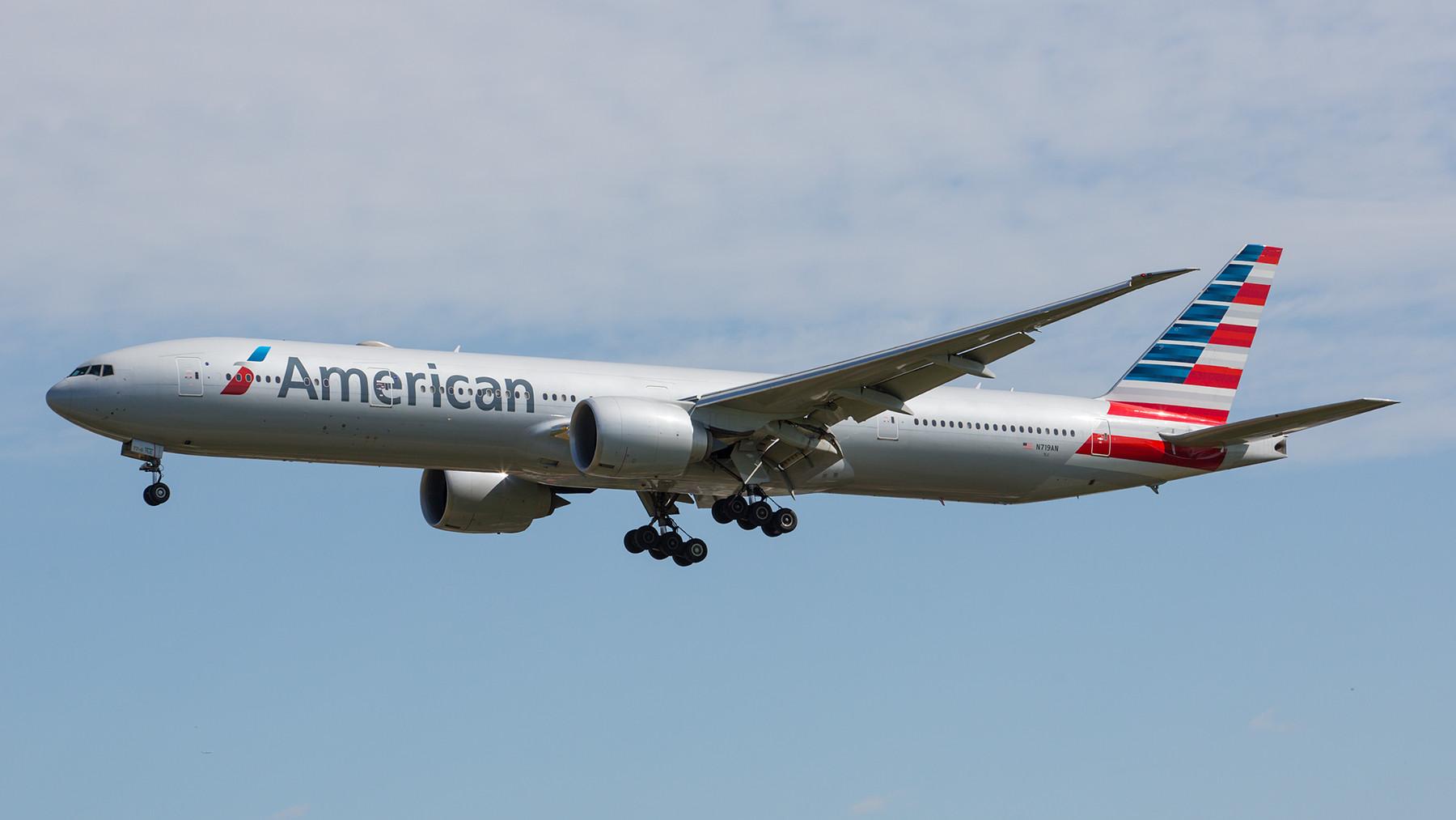 American Airlines ist mit rund 20 täglichen Flügen in LHR zu sehen.