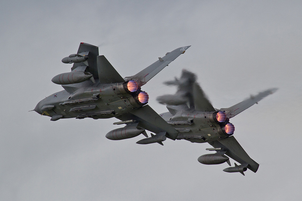 Das Tornado Role-Display der No. 15 Sqn aus RAF Lossiemouth.