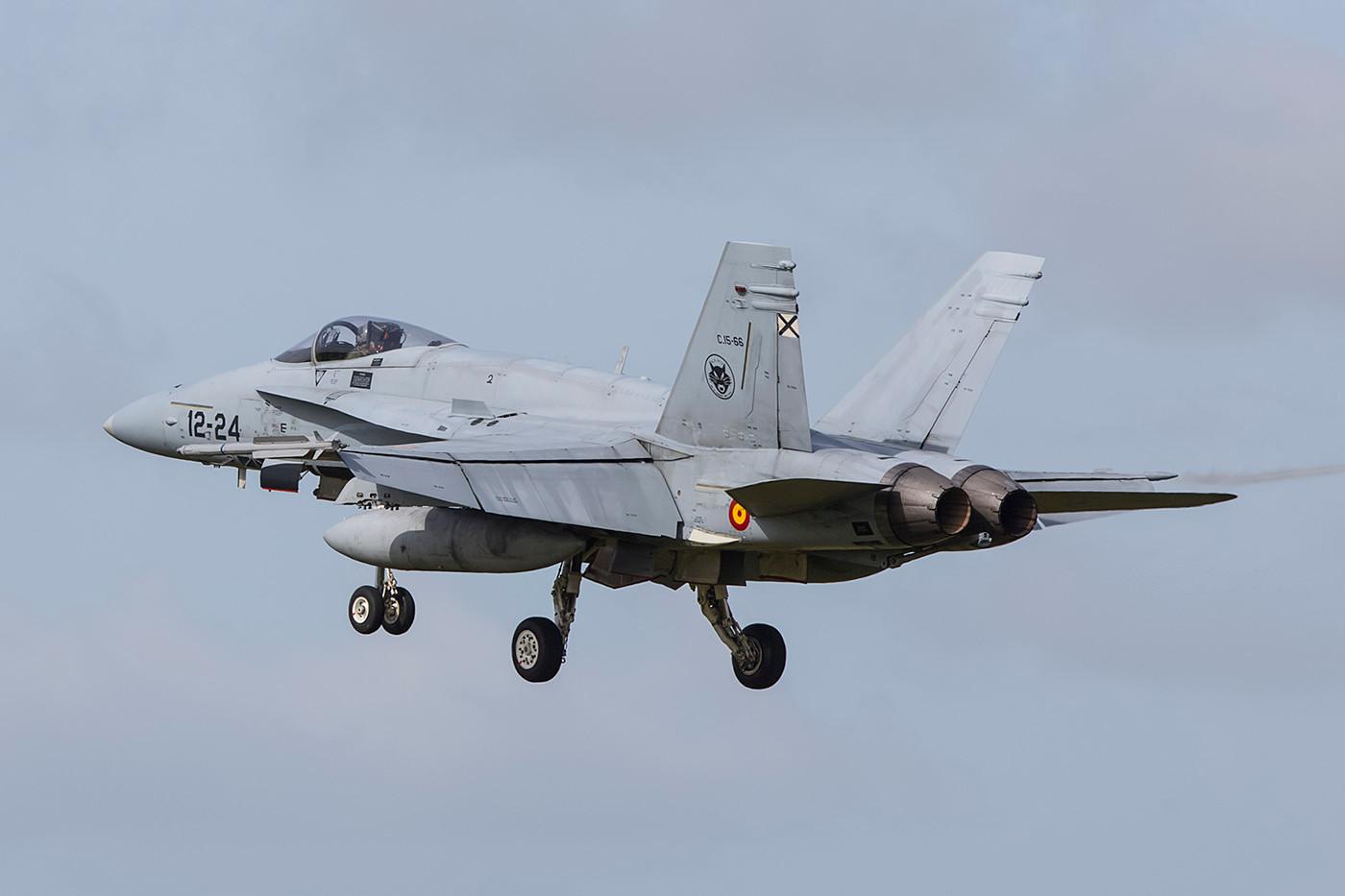 Die Hornet ist aus meiner Sicht ein sehr photogenes Flugzeug