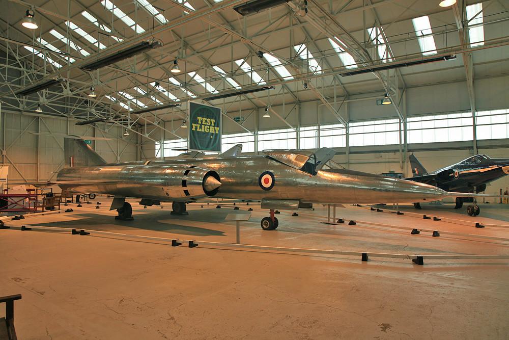 Viele Entwürfe kamen wie diese Bristol 188 nicht über das Versuchsstadium hinaus.