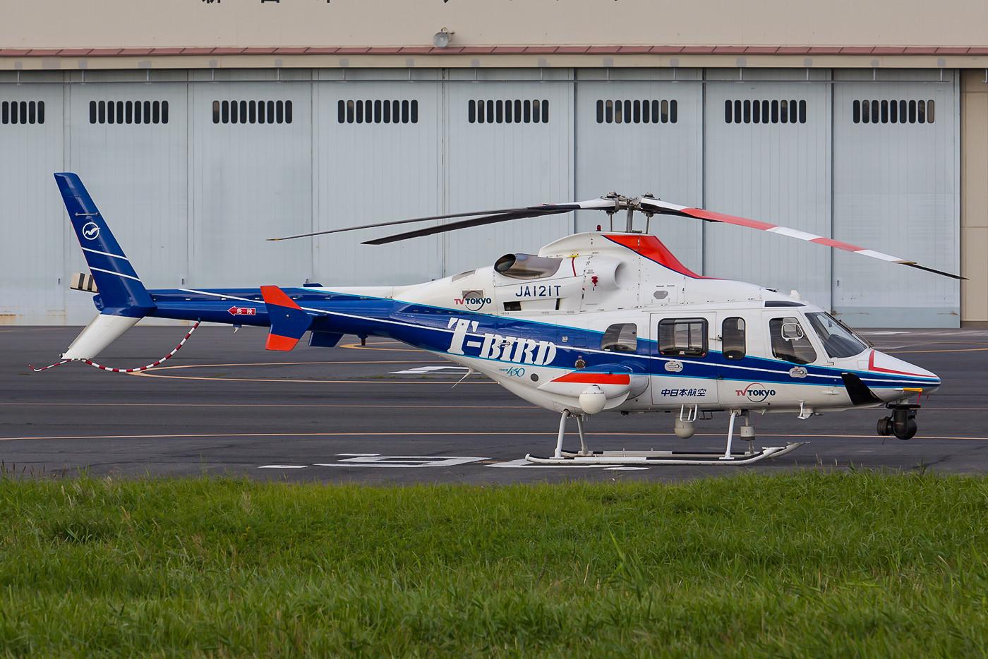 Bell-430 des Nakahihon Air Service im Einsatz für TV Tokyo.