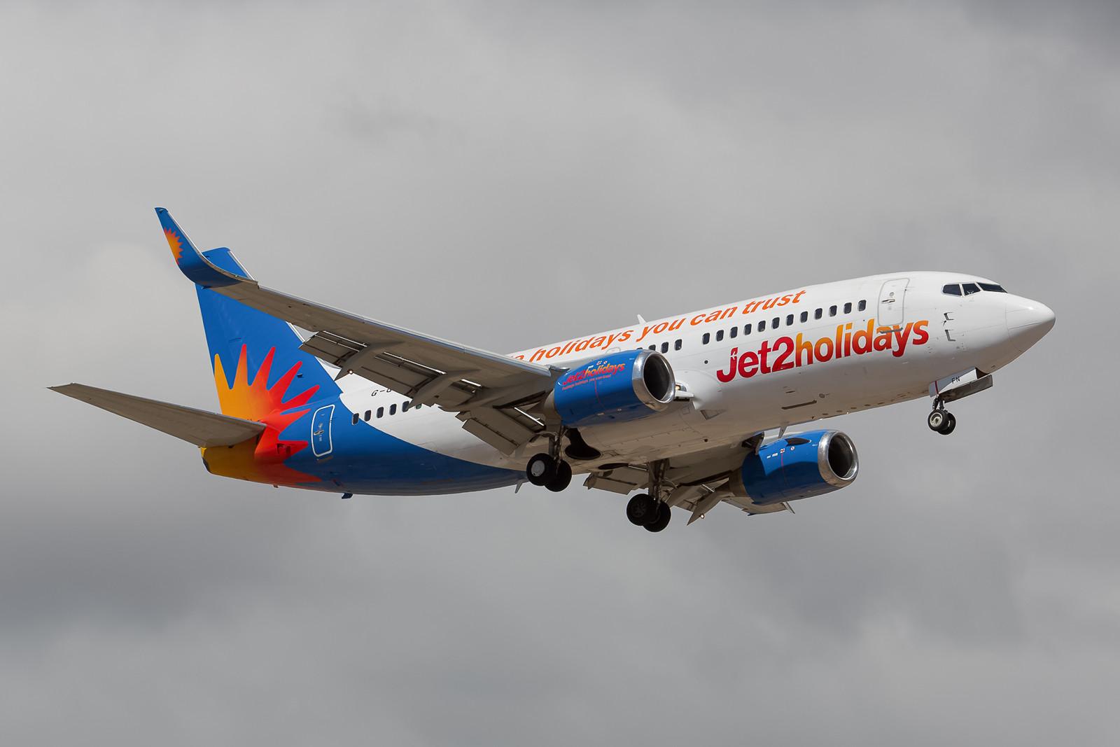 Gut rumgekommen ist diese Boeing 737-33V schon (ex-easyjet, ex-Sky Europe, ex-Air Baltic).