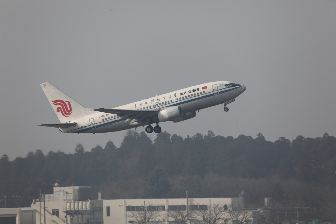 Boeing 737-600 der Air China.
