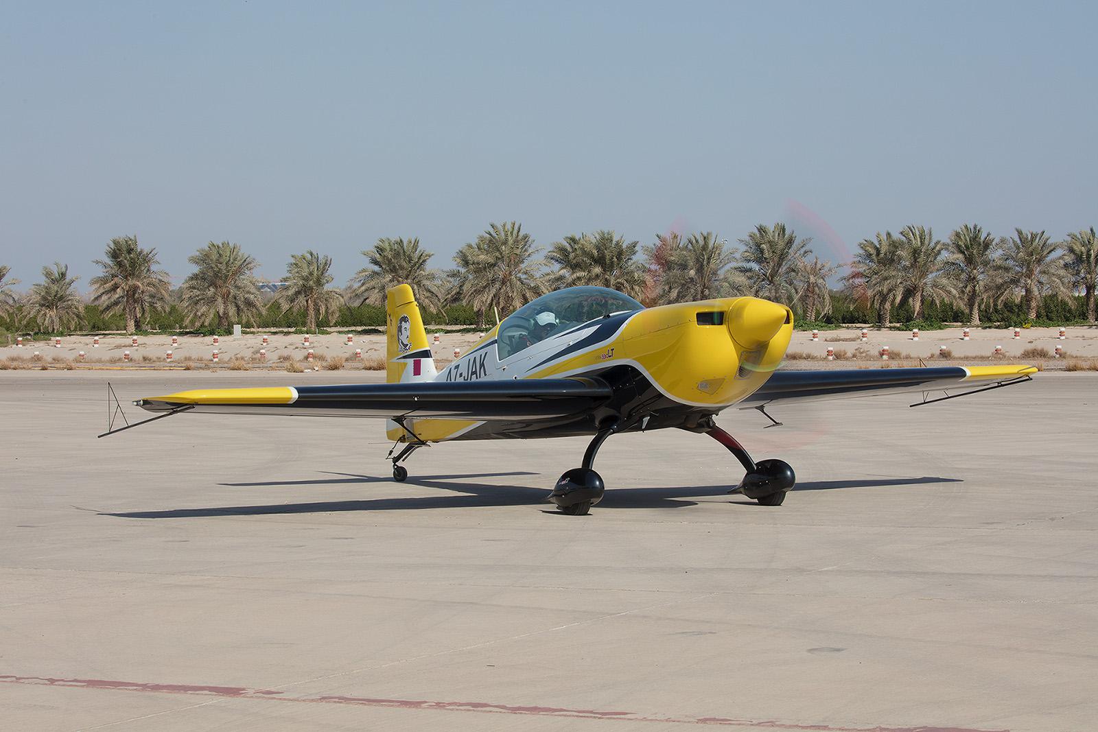 Eine Extra 300 aus Katar.