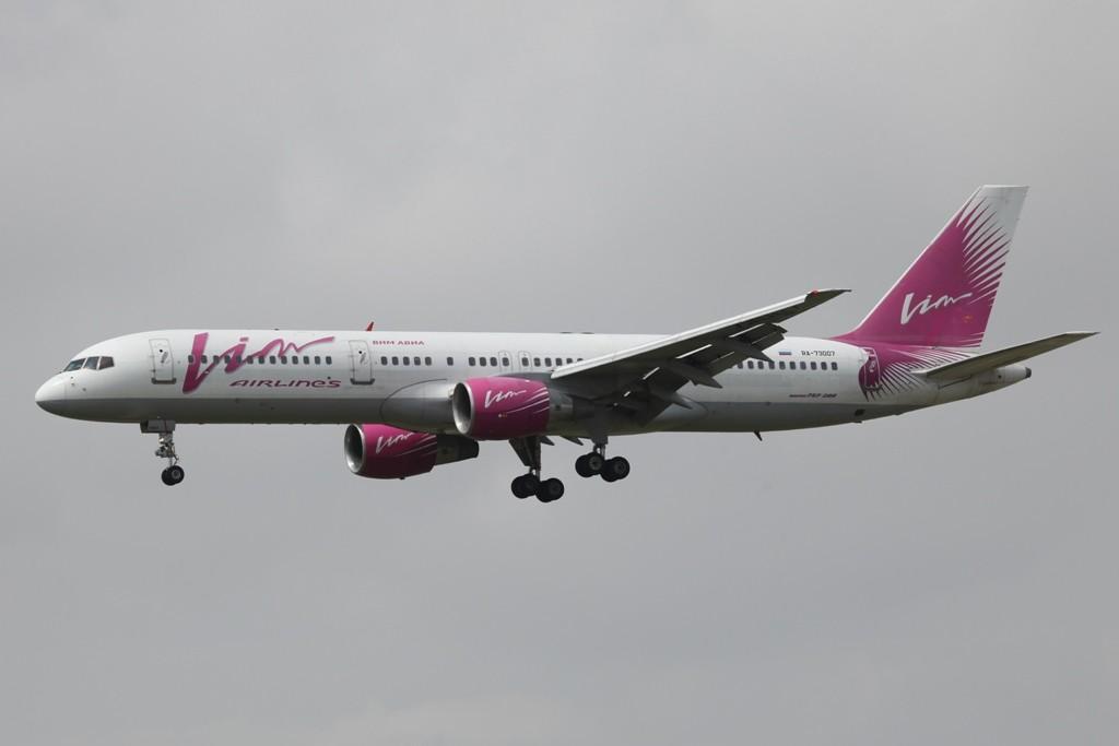 Die VIM ist die erste Airlines in Rußland, die ihre westlichen Maschinen auch dort zuläßt.