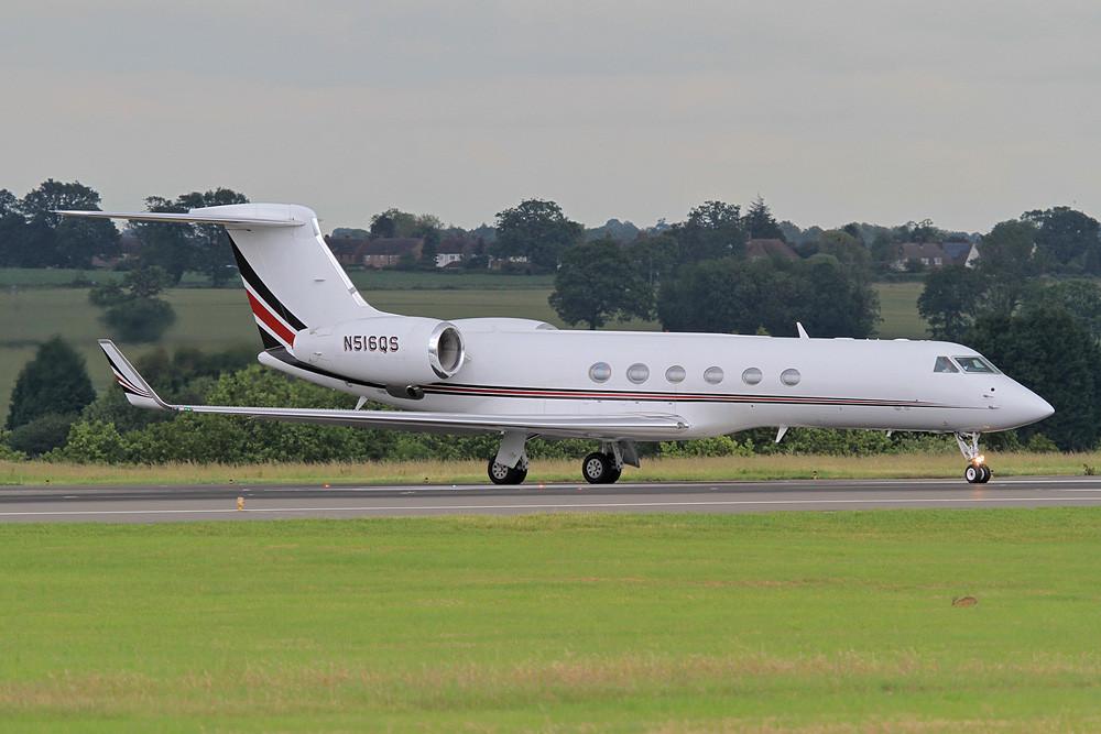Gulfstream V von Netjets USA