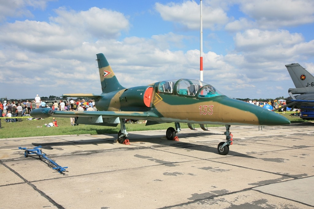 Aero L-39 Albatros Trainer der Ungarischen Luftwaffe.