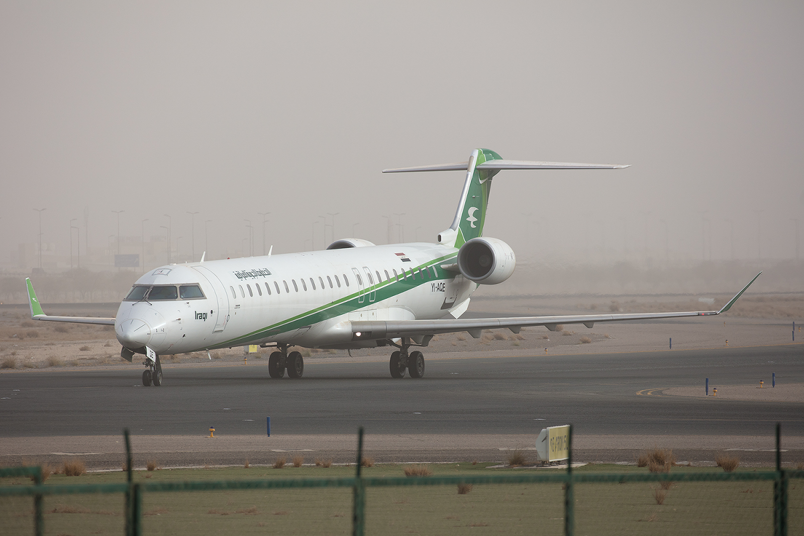 CRJ700 der Iraqi Airways.