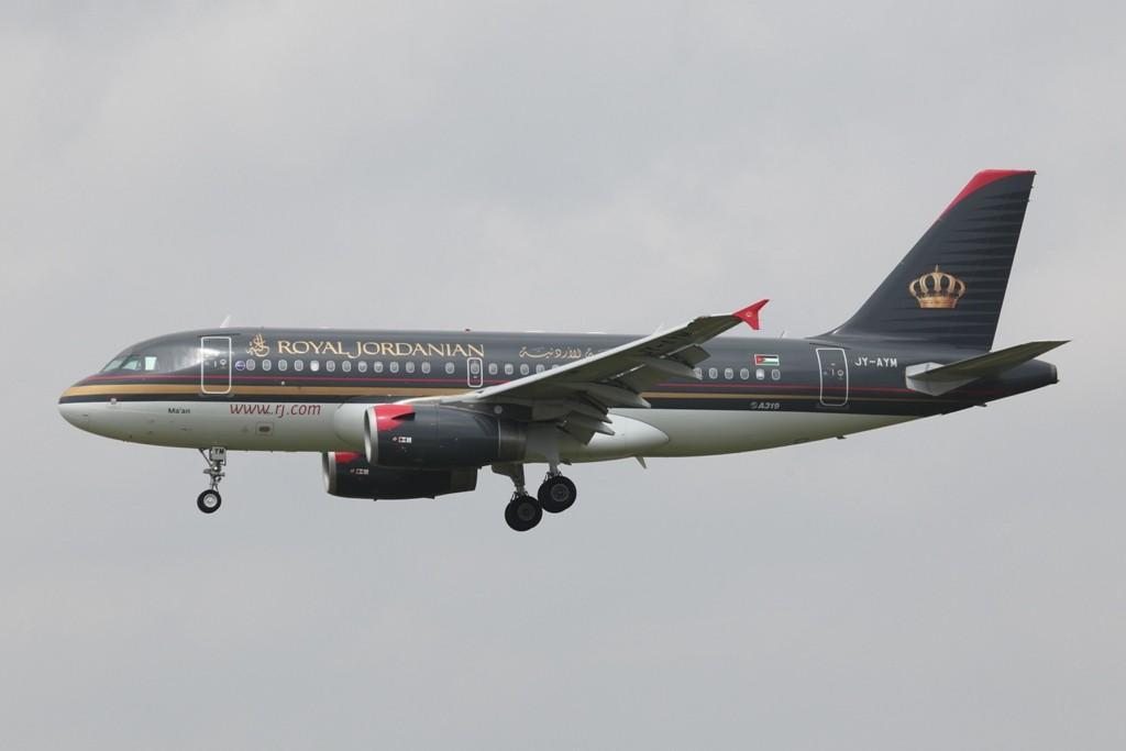Royal Jordanien Airlines aus Amman.